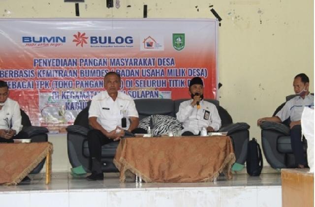 Gelar Sosialisasi Kemitraan Bersama Bulog, DKP Dukung Bumdes dalam Penyediaan Pangan Desa