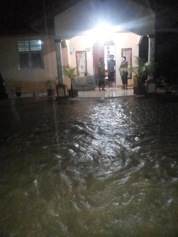 Kota Bangkinang Dilanda Banjir