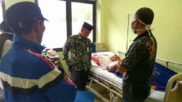 Ketua Komisi I DPRD Kabupaten Kepulauan Meranti Datangi Rumah Sakit Umum (RSUD)
