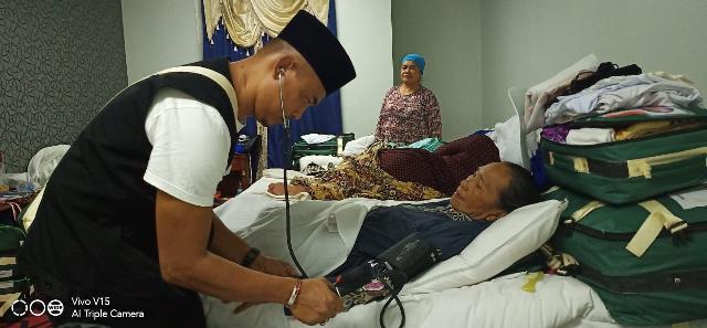 Jema'ah Calon Haji dan keluarga Jangan Khawatir TKHI Siap Selalu Pertahankan Kesehatan Jema'ah