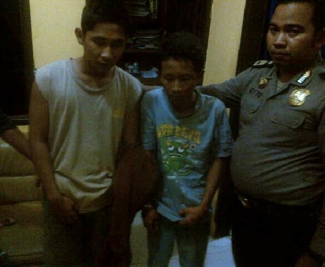 2 Pelajar Di Inhu Diringkus Polisi Setelah Menjambret 2 Orang Guru