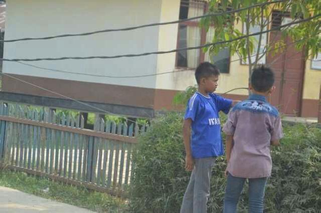 Anak-Anak Di Inhil Malah Bermain Diluar Tanpa Masker