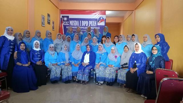 Berakhir di Kota Sagu DPW Puan PAN Sukses Bentuk Puan Se- Provinsi Riau