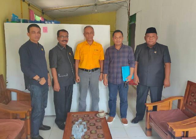 Komisi II DPRD Inhu Lakukan Sidak, Legalitas Perkebunan Sawit PT BRS Peranap Dipertanyakan