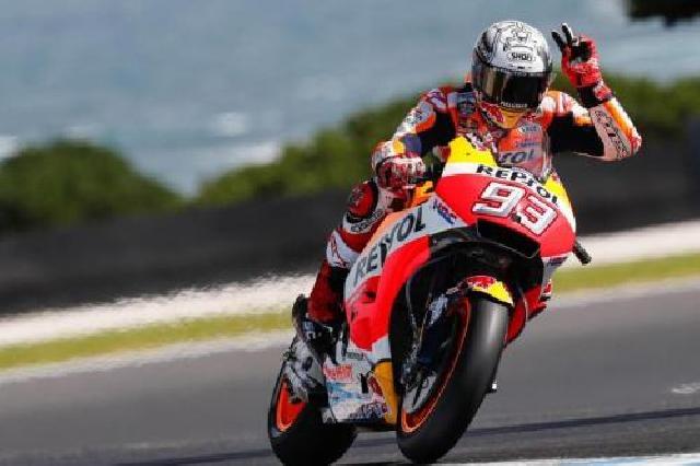 Marquez Duduki Pole Position, Dovizioso Mulai Balapan dari Urutan 11