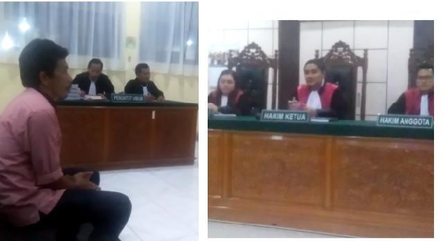 Sidang Dugaan Monay Politik, Tak Berikan Kompensasi Anak H Basran Dilaporkan