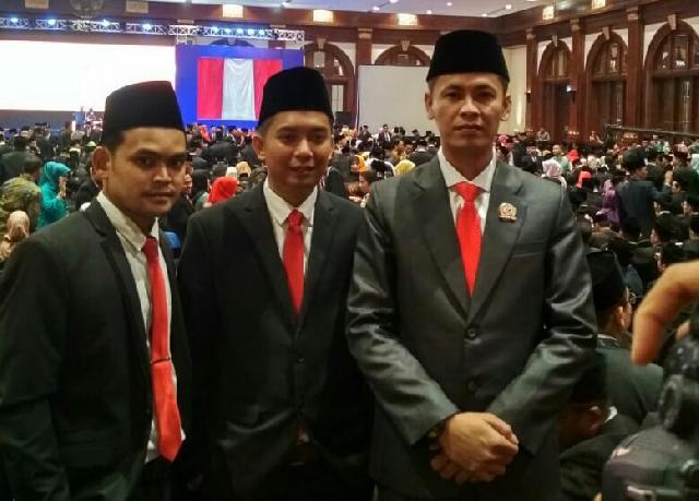 Tiga Pimpinan Bawaslu Kabupaten Kepulauan Meranti dilantik Oleh Ketua Bawaslu RI