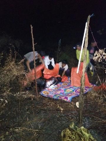 Kakek 99 Tahun di Lahang Hulu, Inhil Ditemukan Tewas Terbakar di Dalam Kebun