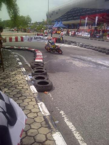 121 Peserta Ikuti Kejuaran Balap PT CDN Honda di Pekanbaru