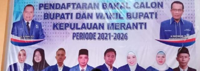 DPD PAN Buka Pendaftaran Bacalon Bupati dan Wakil Bupati Meranti 2020