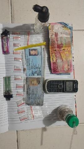 Polisi Inhu Temukan Shabu dalam Rumah Warga Airmolek I