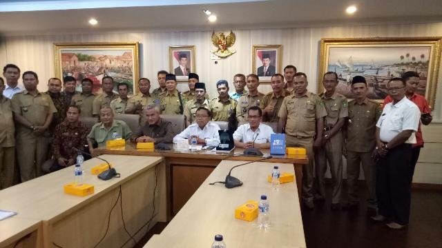 Ketua DPRD Meranti Beserta Forum Kepala Desa Datangi Kementrian KKP