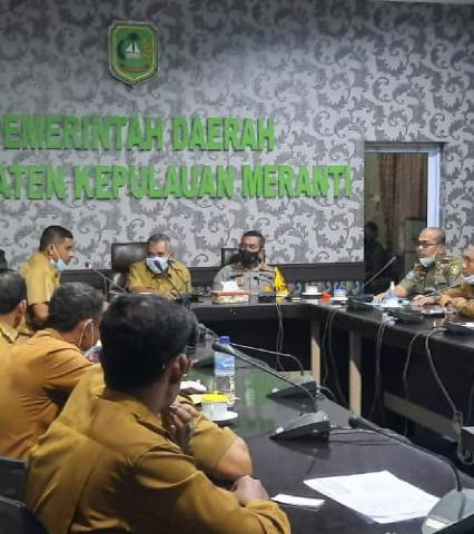 Kapolres Bersama Sekda Kabupaten Meranti Pimpin Rapat Koordinasi Perhutanan Nasional Sosial