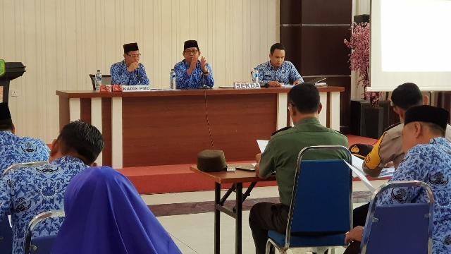 Pemerintah Kabupaten Meranti Gelar Rapat Pembentukan Panitia Pemilihan Kades Serentak Tahun 2019
