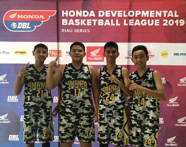 Tim Basket 3X3 Putra SMAN 1 Pangkalan Kerinci Melaju Ke Final DBL Riau Series 2019