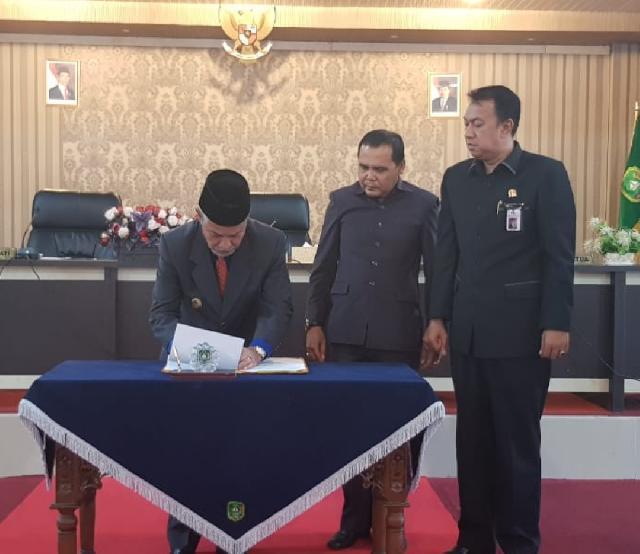 Eksekutif dan Legislatif Sepakat Sahkan RAPBD-P Meranti 2018