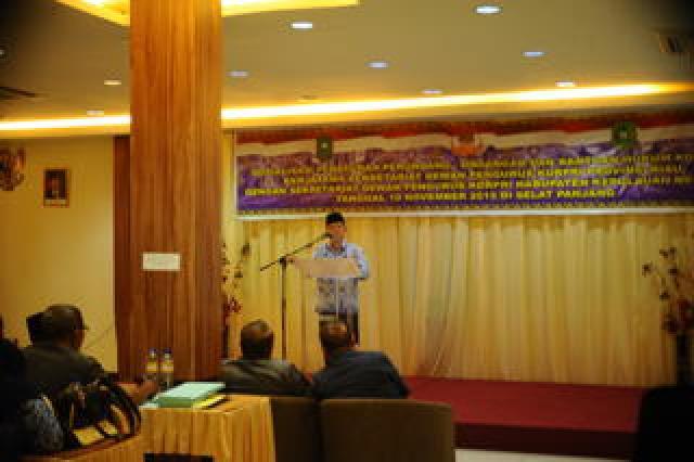 Mempererat Silaturahmi dan Menambah Pengetahuan Hukum untuk PNS di Meranti.