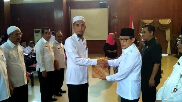 Walikota Serahan DPA Tahun 2018 ke Seluruh OPD