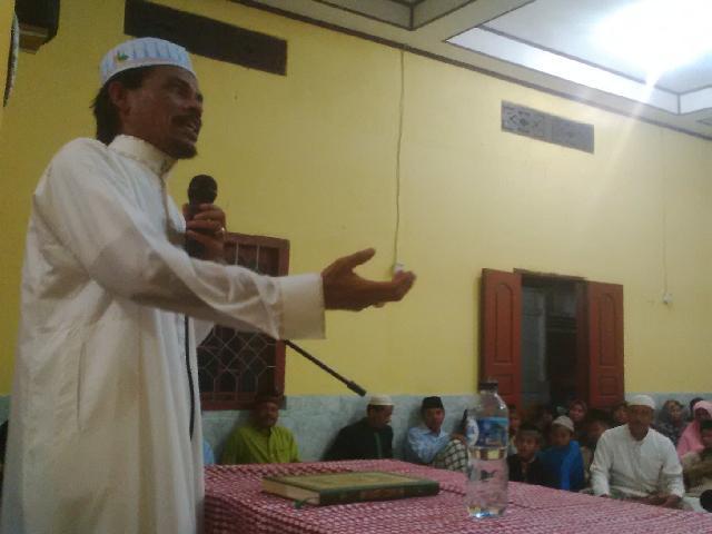 Tablik Akbar di Desa Redang, Ini 4 Pesan Malik Siregar