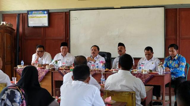 Sekda Inhil Apresiasi Pendidikan Kecamatan Kempas