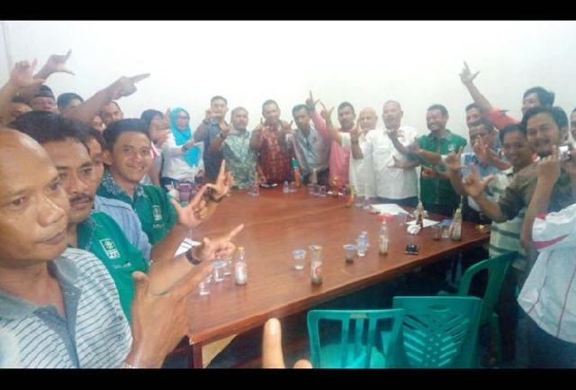 Menangkan 70 Persen LE-Hardianto, Koalisi Riau Bangkit Kabupaten Inhu Terbentuk