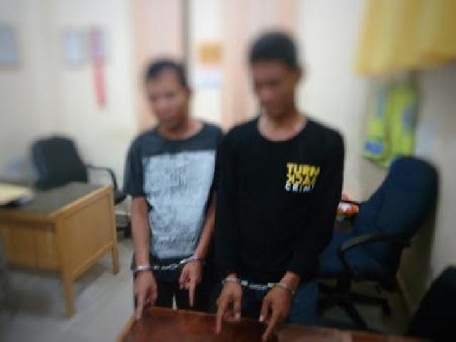 Nyamar Jadi Pembeli, Polisi Dumai Ciduk Dua Pengedar Sabu