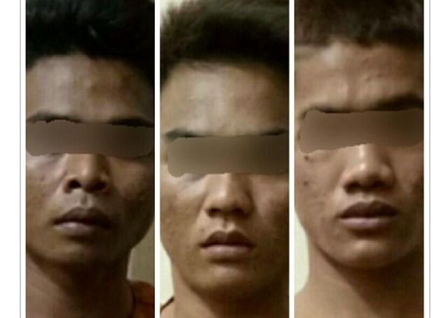 Tiga Warga Pelangiran Ditangkap Polisi, Ini Penyebabnya