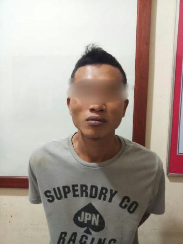Polres Inhu Tangkap Residivis Warga Pekan Heran Diduga Bobol Ruko LBV Di Pematang Reba