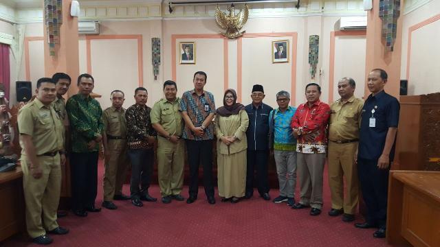 Kunjungan kerja Pansus IUJK DPRD Meranti Ke Pemerintah Kota Cirebon