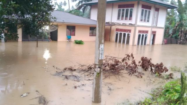 Banjir Landa Kuansing, Puluhan Rumah Warga Terendam