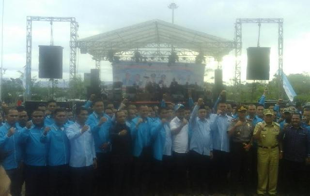 Pengurus DPD KNPI Rohul Periode 2016-2019 Dilantik