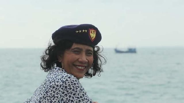 Menteri Susi Taksir Kekayaan Ikan di Natuna Mencapai USD400 Juta