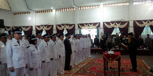52 Pjs Penghulu Resmi Dilantik Wabup Jamiluddin