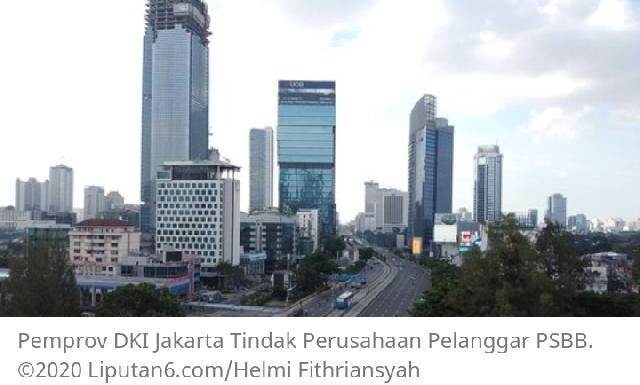 Pemasukan Menurun Dampak Covid-19, Jakarta Diperkirakan Tanpa Pembangunan Tahun Ini