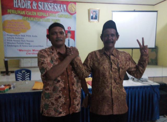 Pilkades Candirejo Berjalan Sukses, Achmadi Pemenangnya