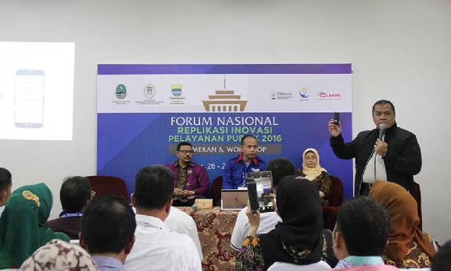 Bupati Inhu Paparkan Pengelolaan Pengaduan Masyarakat dalam Forum Nasional