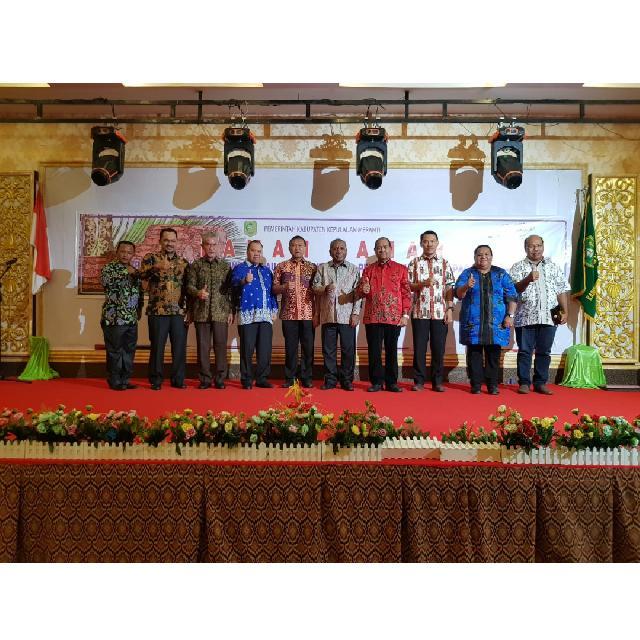 Pemkab Meranti dan Rombongan Pemprov Papua Gelar Ramah Tamah Eratkan Tali Silahturahmi