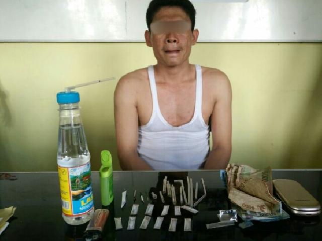 Gembong Narkoba Dari Inhil DiTangkap Di Inhu