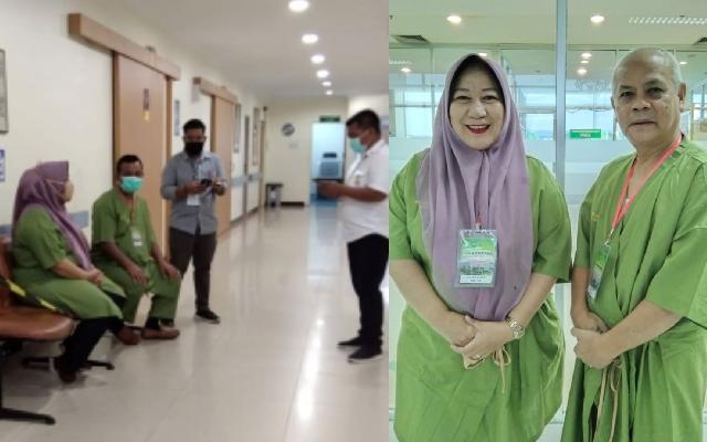 Kenapa Kesehatan Siti Aisyah - Agus Rianto Diperiksa di RS Arifin Ahmad, Ini Alasannya
